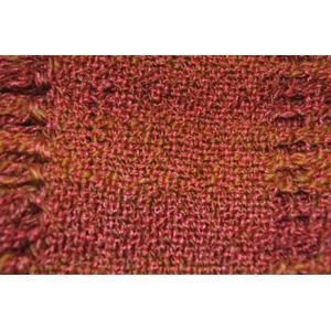 red yarn woven